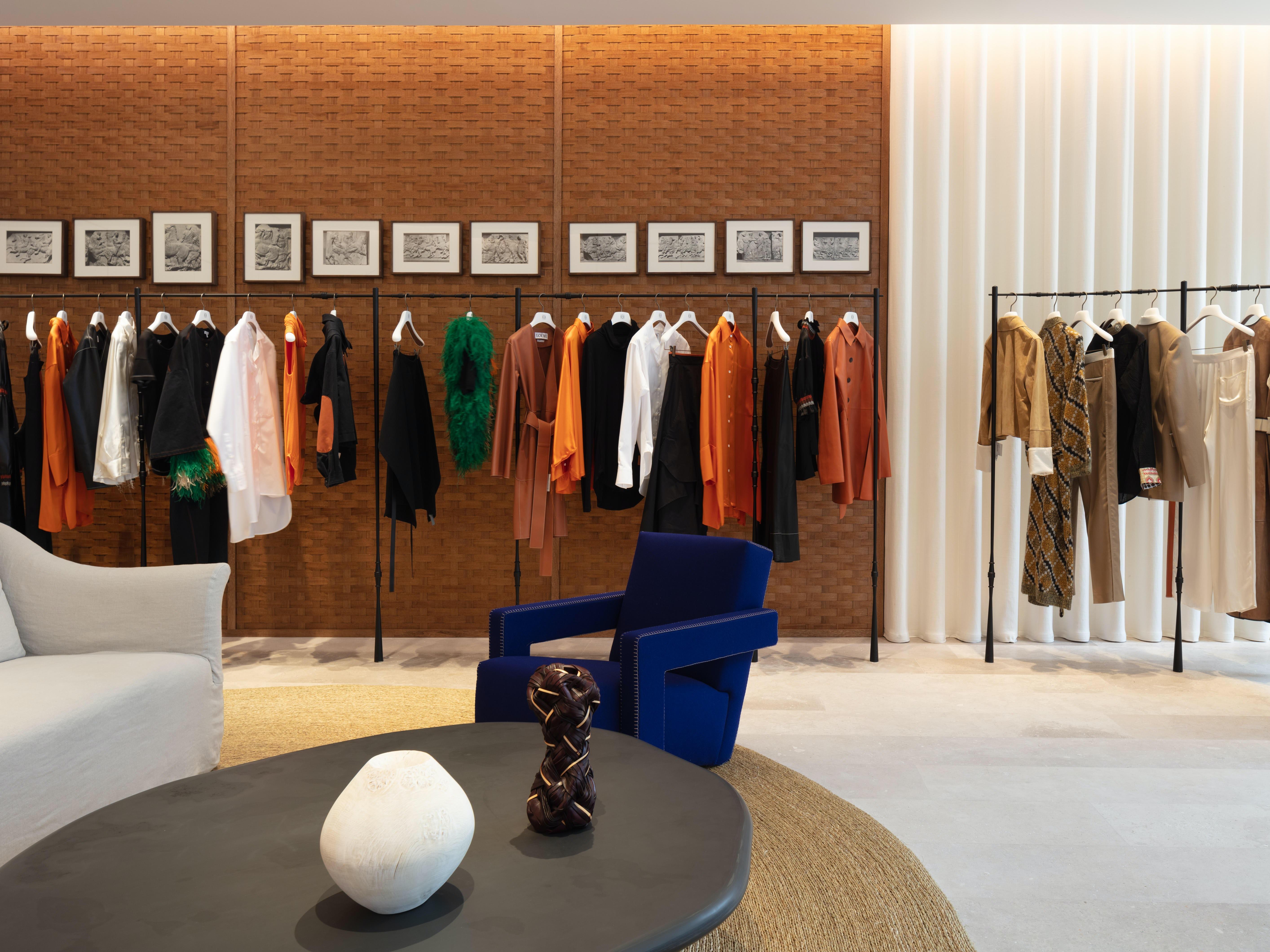 Inside the new Loewe store on Bond Street | Source: Courtesy