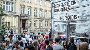 Birkenstock's mobile retail concept opening at Andreas Murkudis in Berlin | Source: Courtesy