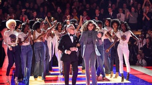 Zendaya and Tommy Hilfiger walk the runway of PVH-brand Tommy Hilfiger in March | Source: Getty Images