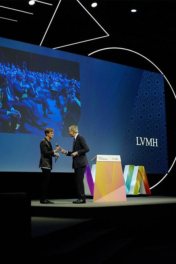 LVMH Touts Blockchain, Artificial Intelligence at VivaTechnology