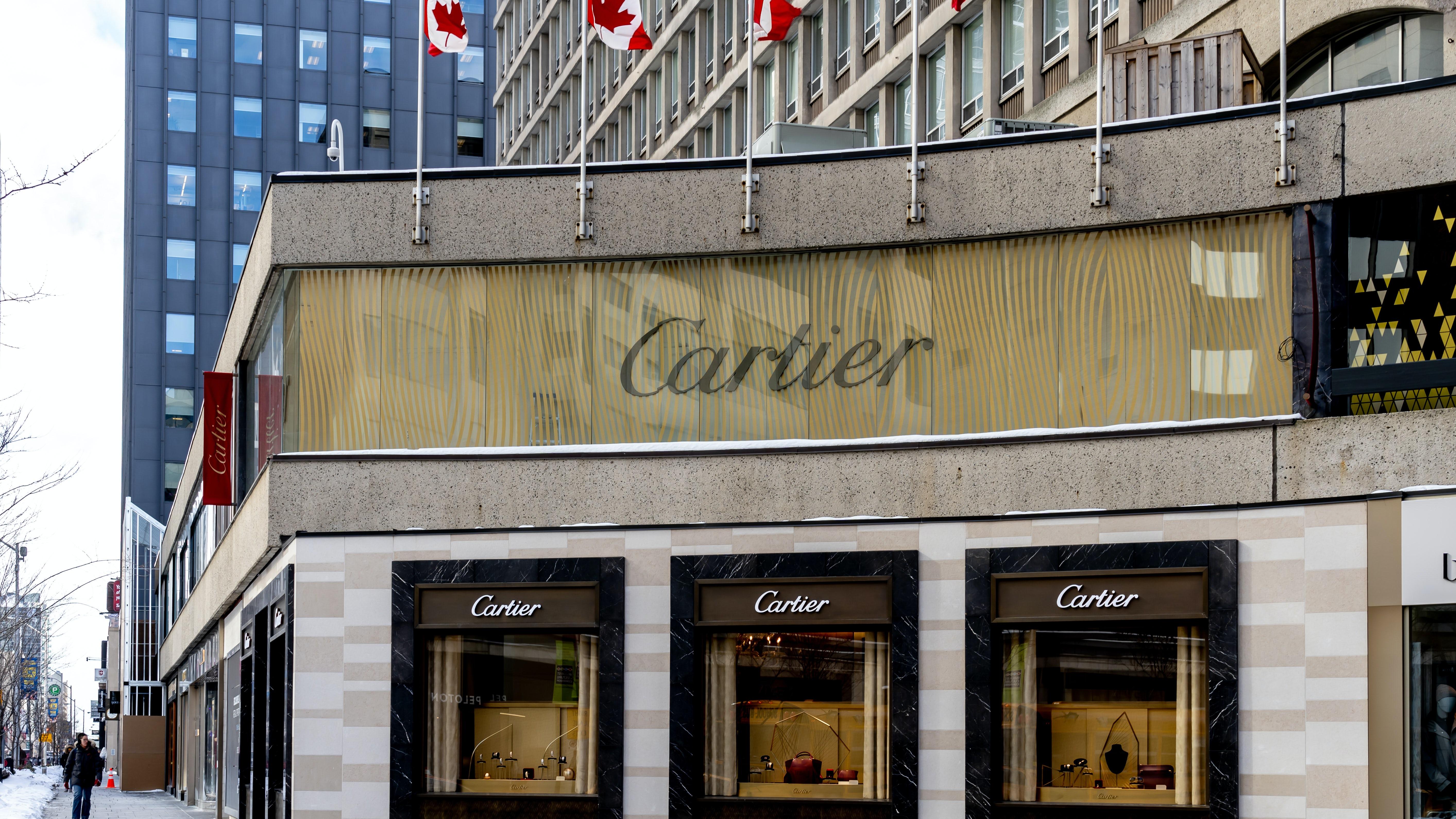 Cartier store in Toronto's Yorkville Neighbourhood | Source: Shutterstock