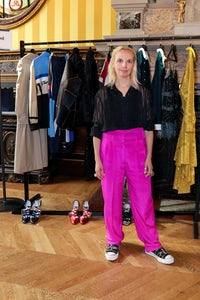 Christelle Kocher, founder of the haute streetwear label Koché, has won the ANDAM Grand Prize | Source: François Goizé