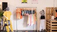 Clanedstina's pop-up shop in Williamsburg   Source: Courtesy, BFA