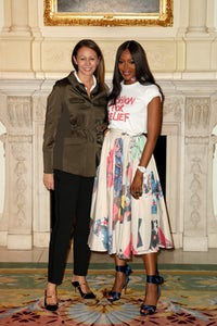 Naomi Campbell and Caroline Rush | Source: Courtesy