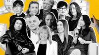 (L-R back) Robyn Healy, Floriane de Saint Pierre, Jane Rapley, Linda Loppa, Pamela Golbin. (L-R front) Sara Sozzani Maino, Pascal Morand, Karen Harvey, Bandana Tewari, Sara Kozlowski, Christine Tsui | Collage by BoF