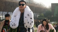 Bryanboy at the Dior Couture show in January 2017 | Source: Getty