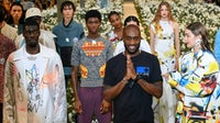 Virgil Abloh at Off-White finale SS20 | Source: Courtesy