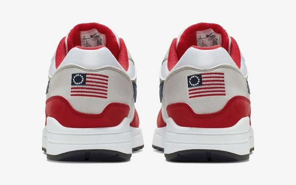 Microbio apertura Adviento  With Betsy Ross Sneakers, Nike Puts Money Where Its Mouth Is | News &  Analysis | BoF