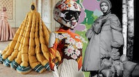 Moncler's Pierpaolo Piccioli , Richard Quinn and Simone Rocha Genius collections | Collage by BoF