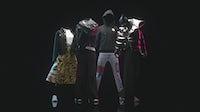 Digital clothing designed by virtual fashion house The Fabricant.