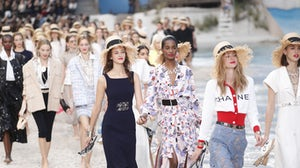 Models walk the Chanel runway in October, 2018 | Source: Shutterstock