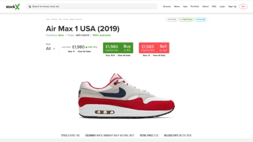 Betsy Ross Sneakers, Nike Puts Money