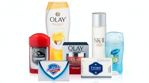 P&G-owned beauty and personal care brands   Source: P&G media library