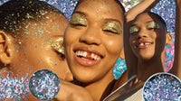Primark's Bioglitter beauty campaign | Source: Courtesy, Collage by BoF