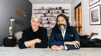 Nicole Wiesmann, head of men's design, and Omar Nobil, head of women's design at Banana Republic | Source: Courtesy
