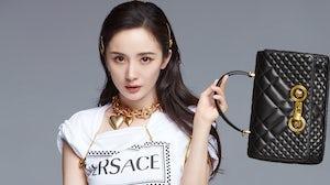Actress Yang Mi's Versace Campaign | Source: Courtesy