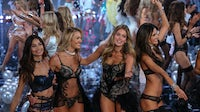 Doutzen Kroes (third from left) is a former Victoria's Secret Angel and among the models who signed a petition urging the brand to make a commitment to protect models | Source: Shutterstock