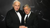 Les Wexner and Ed Razek | Source: Getty Images