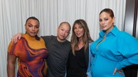 (L-R) Paloma Elsesser, Jason Wu, Nina Garcia, and   Ashley Graham at the BoF and Nordstrom Dinner | Source: BFA