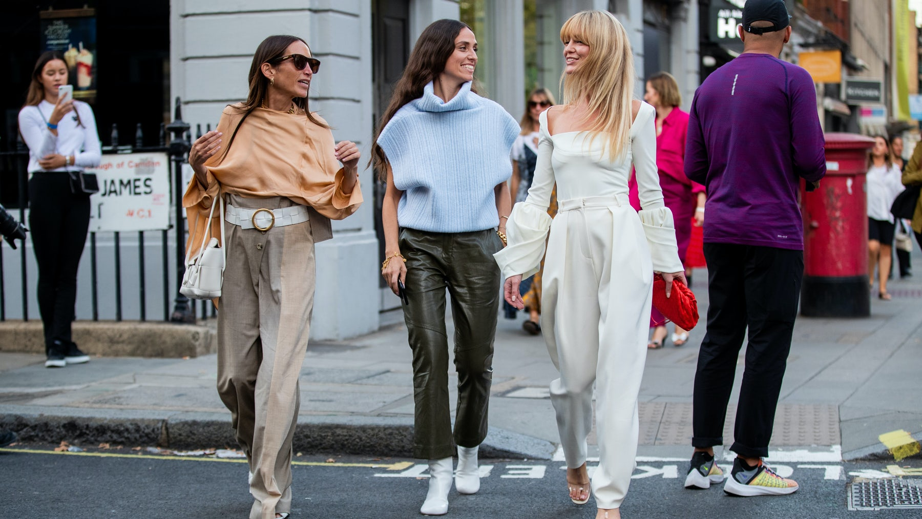 In London, Fashion Takes a Break from Brexit