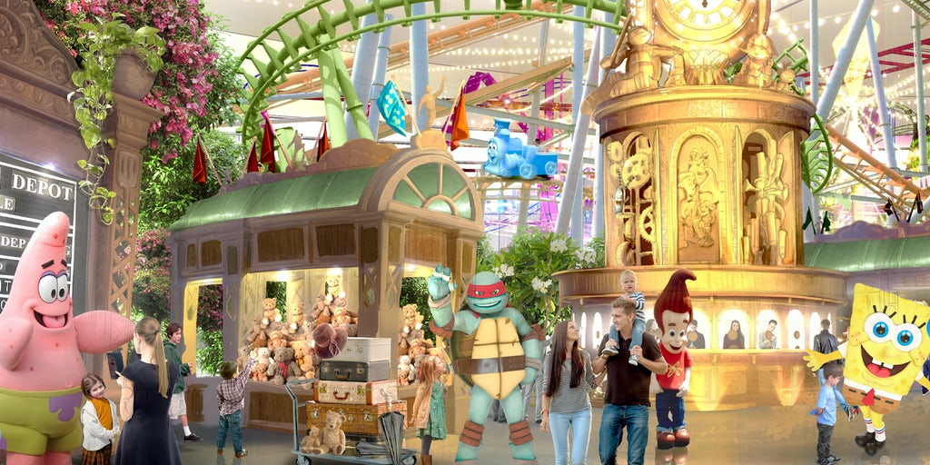 Can Roller Coasters and a Bunny Garden Lure Shoppers Back to the Mall?