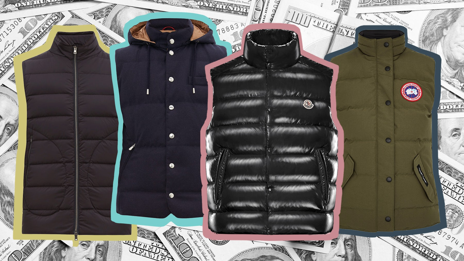 How the Puffy Vest Became a Symbol of Power