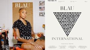 Blau International debuted Thursday at Paris' Foire Internationale d'Art Contemporain | Source: Courtesy