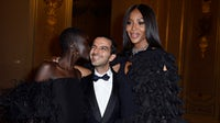 Adut Akech, Imran Amed and Naomi Campbell at the #BoF500 gala | Source: Getty Images for The Business of Fashion