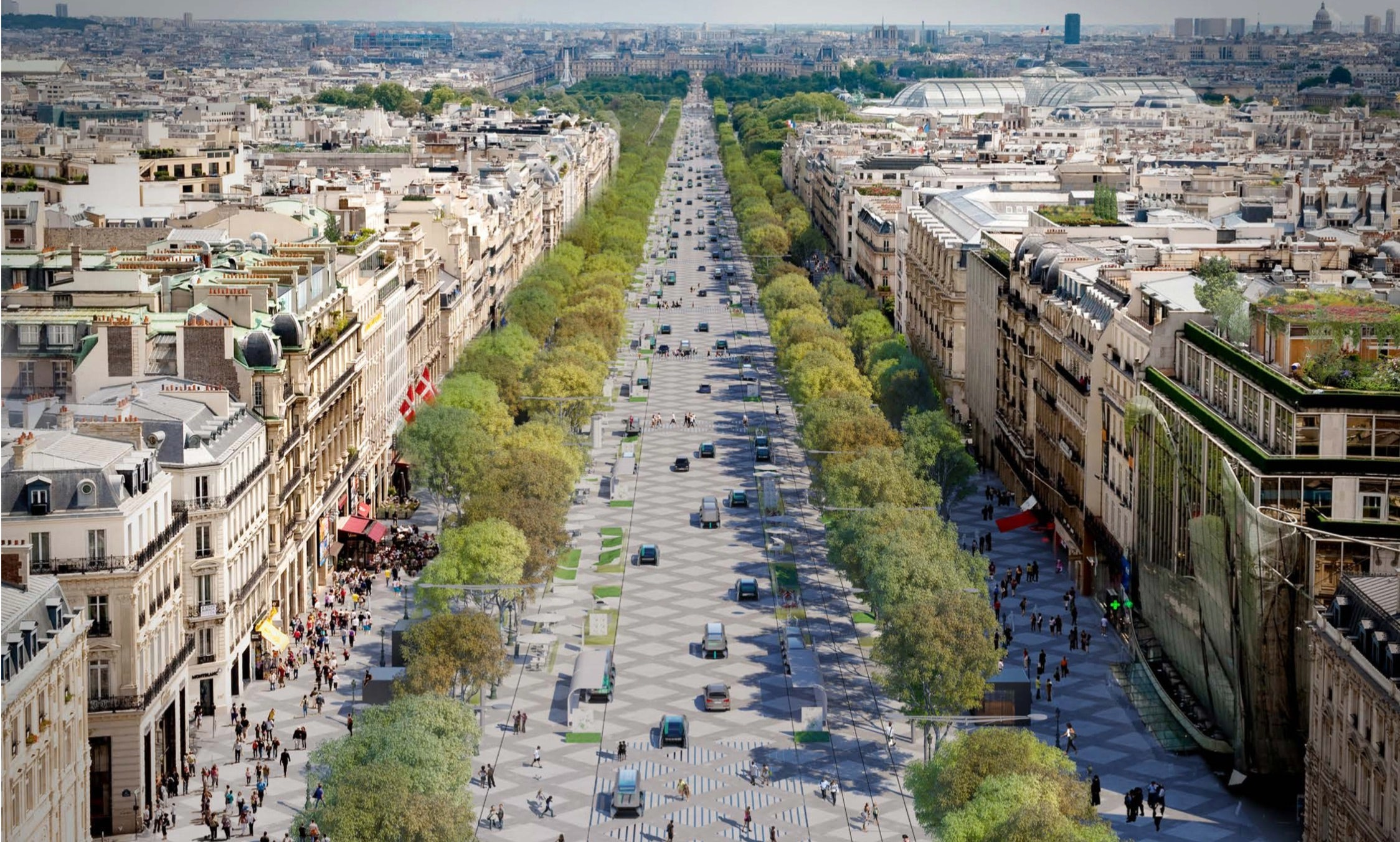 Can the Champs Élysées Reinvent Itself?
