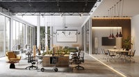Large and modern office interiors | Source: Getty Images