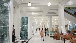 Selfridges' new Accessories Hall, which it touts as the largest in the world | Source: Courtesy