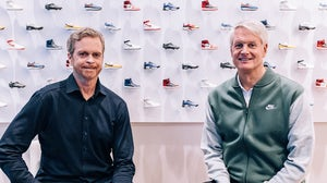 Mark Parker and John Donahoe | Source: Courtesy