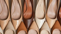 A collection of Shoes of Prey nude collection | Courtesy