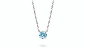 Lightbox blue diamond necklace | Source: Courtesy