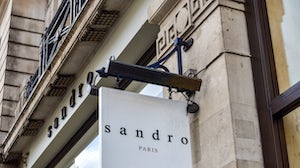 Facade of the Sandro store on Regent Street. Sandro Paris is part of the SMCP Group | Source: Shutterstock