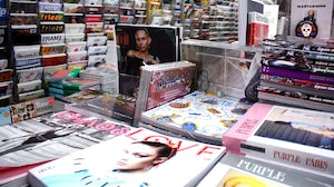 Magazines on sale at Soho News International on Prince Street, New York. The publications featured in this image are unconnected to the practices described in BoF's reporting | Source: BoF