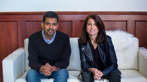 Amit Aggarwal and Julie Bornstein | Source: Courtesy