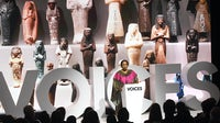Rozan Ahmed speaks during #BoFVOICES   Source: Getty Images for The Business of Fashion