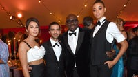 Naomi Scott, Imran Amed, Edward Enninful and Ella Balinska attend the BoF VOICES gala dinner | Source: Getty Images for The Business of Fashion