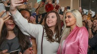 Kylie Jenner visits an Ulta Beauty store in Houston to promote the exclusive launch of Kylie Cosmetics with the beauty retailer. | Source: Getty Images