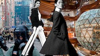 Hong Kong protests, Ming Xi by Boo George, Feifei Sun by Stockton Johnson and K11 Musea | Collage by BoF