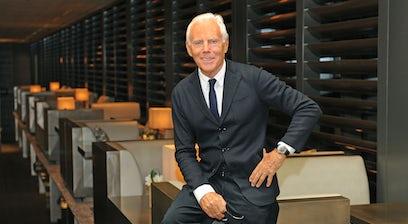 Giorgio Armani Bof 500 The People Shaping The Global Fashion Industry