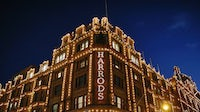 Harrods department Store in Knightsbridge in London | Source: Getty Images