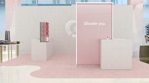 A rendering of Glossier's Glossier You space on the main floor of Nordstrom's New York flagship. | Source: Courtesy