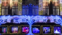 The holiday window display at Saks Fifth Avenue's Manhattan flagship | Source: Courtesy