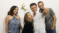 Maurizio Cattelan's duct-taped banana | Source: Getty Images