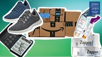 Amazon and digital startups like Warby Parker disrupted retail | Collage by MC Nanda for BoF