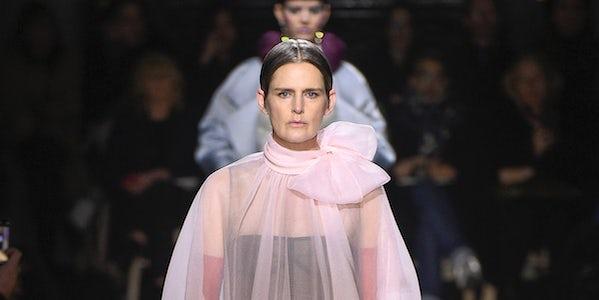Valentino's Bygone Glamour