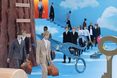 Louis Vuitton Men's Autumn/Winter 2020 | Source: INDIGITAL.TV