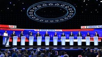 Democratic presidential hopefuls   Source: Getty Images